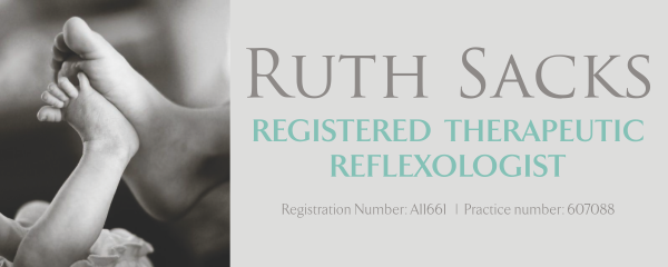 Ruth Sacks Registered Therapeutic Reflexologist
